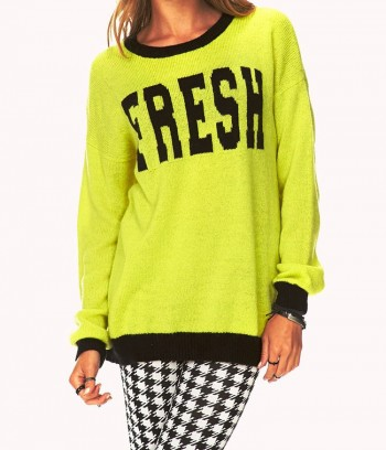 Pulover Fresh Open-Knit Forever 21