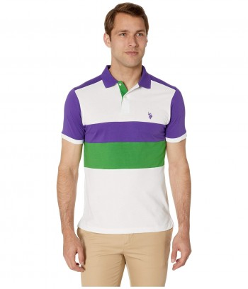 Tricou U.S. Polo Chest Stripe