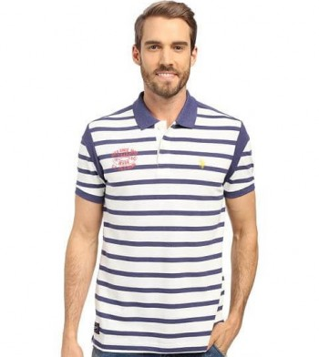 Tricou U.S. Polo Striped Slim Fit