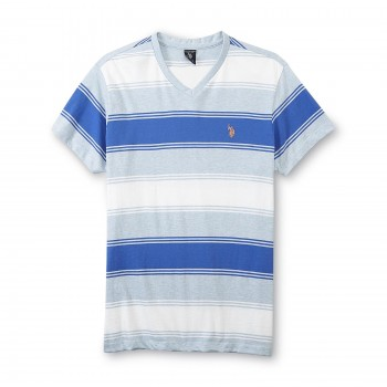 Tricou U.S. Polo Assn. V-Neck T