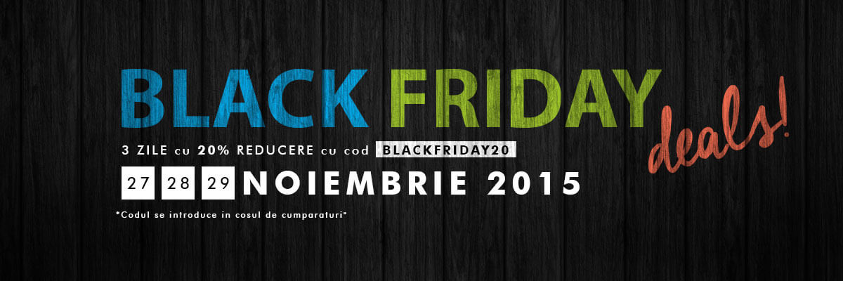 Black Friday la FashionRepublic.ro